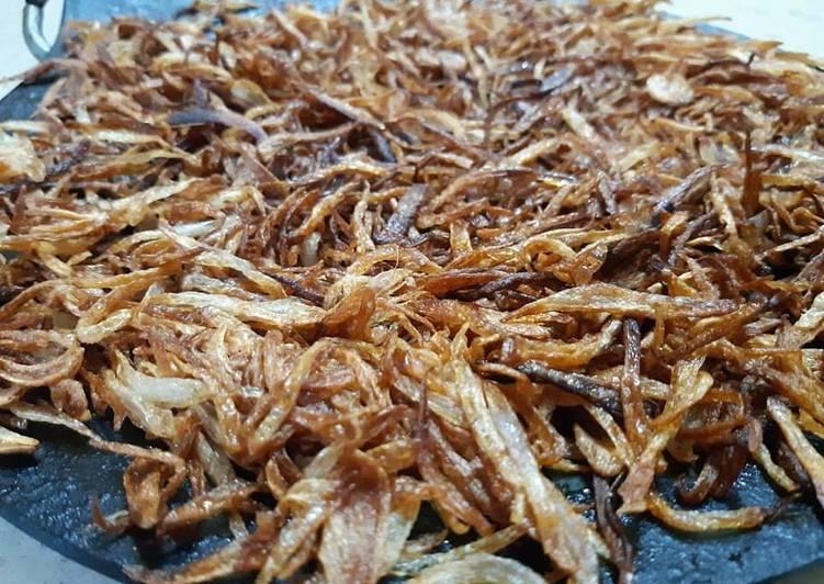 Bhagari Piyaz(fried onion)
