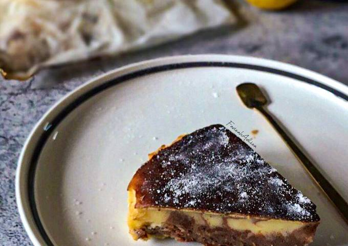 Marble Burnt Cheese Cake