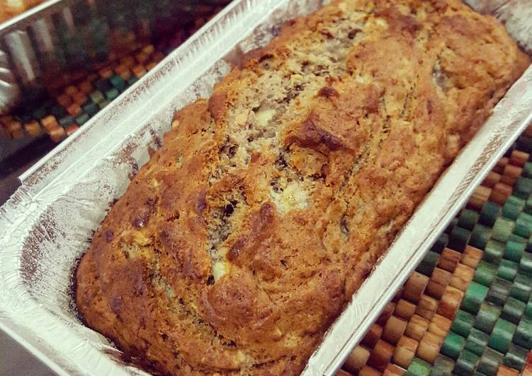 Vegan Banana Almond Bread
