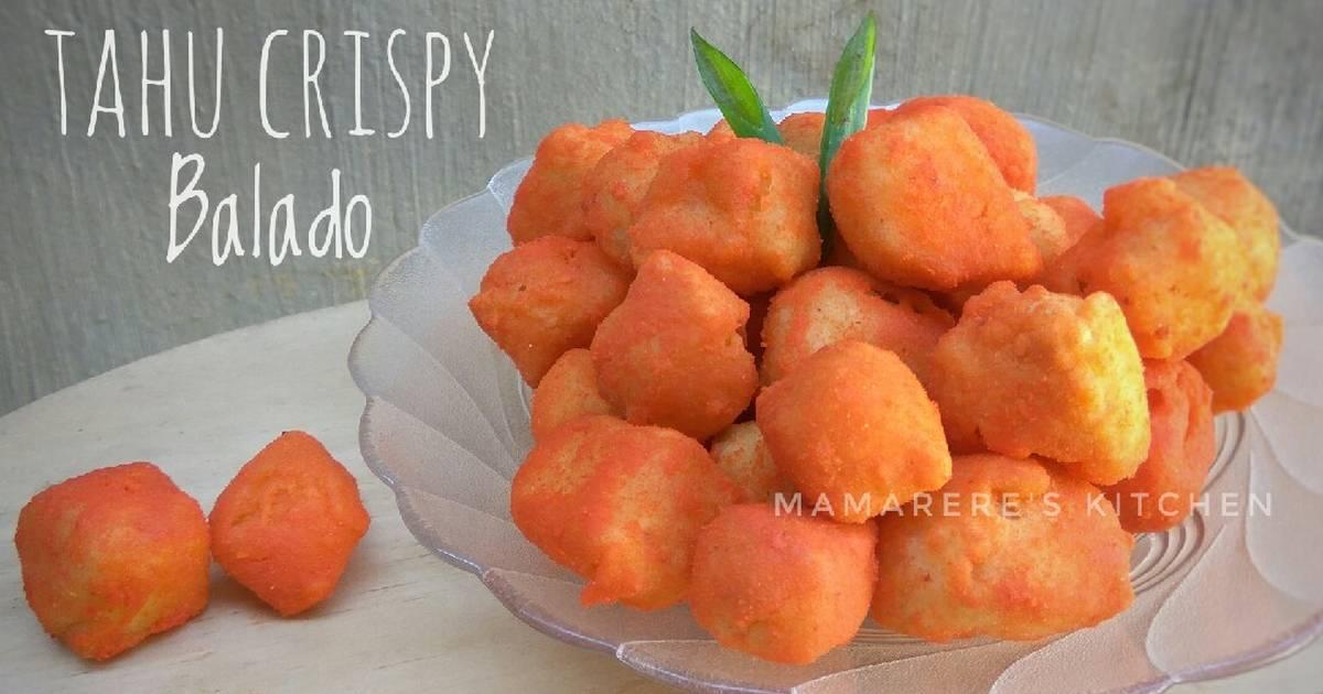 Resep Tahu Crispy Balado Oleh Dewi Ratnasari Cookpad