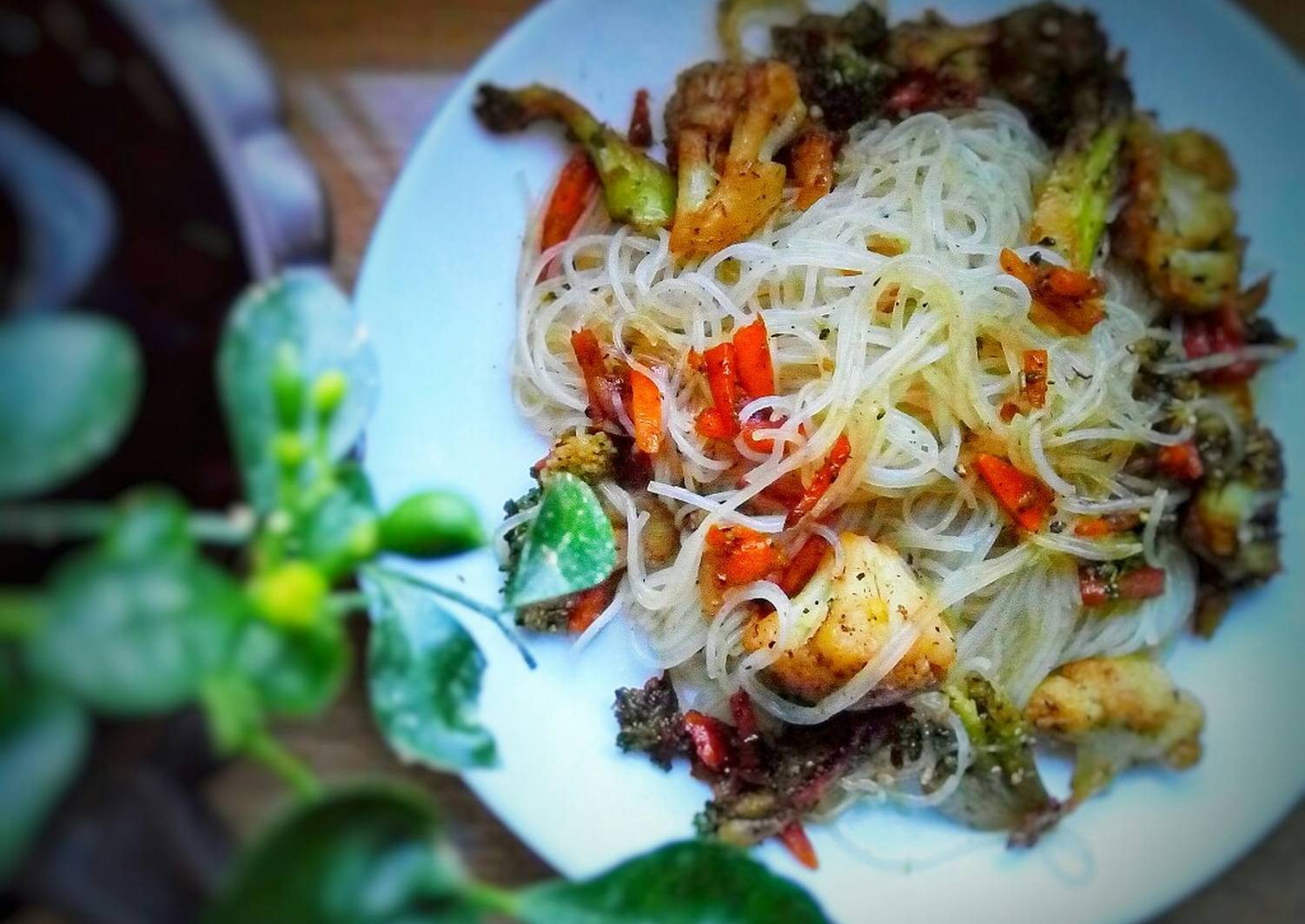 рисовая лапша рецепты с овощами фото желает никому