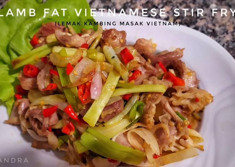 Lemak Kambing Ala Vietnam