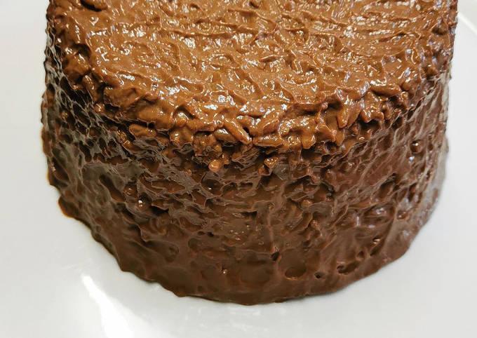 Gâteau de riz au chocolat