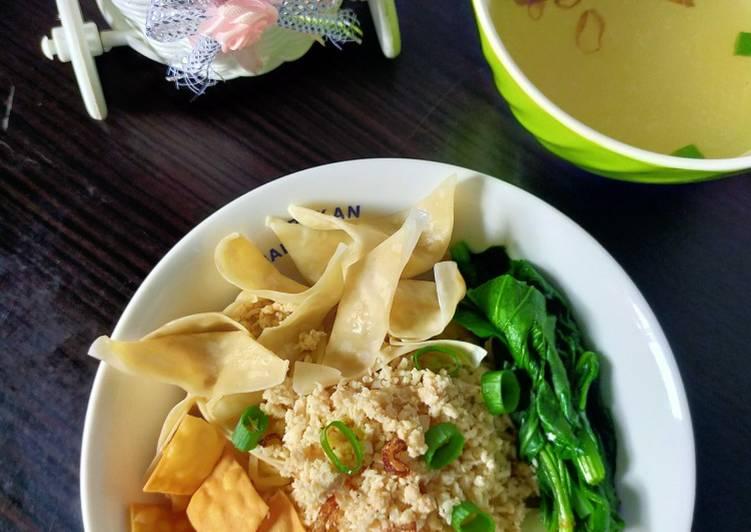 Pangsit Mie Ayam Homemade