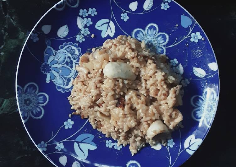 Squid Milk Rice