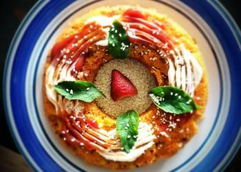 How to Prepare Tasty Guacamole flavored rava spicy DONUT