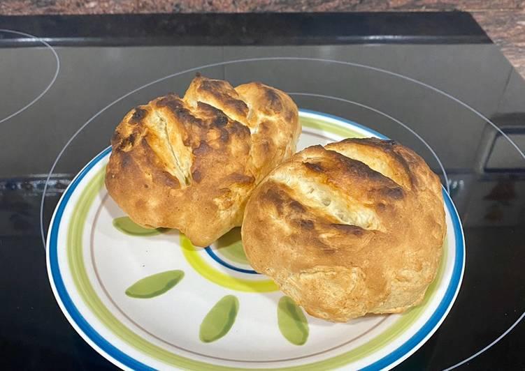 Pan al microondas