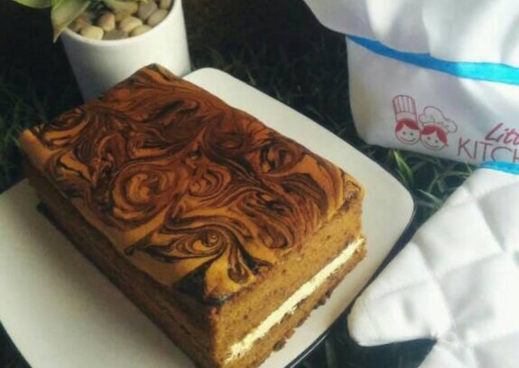 Lapis Coffee Mocca with Rhum, Mocca & Caramel Buttercream