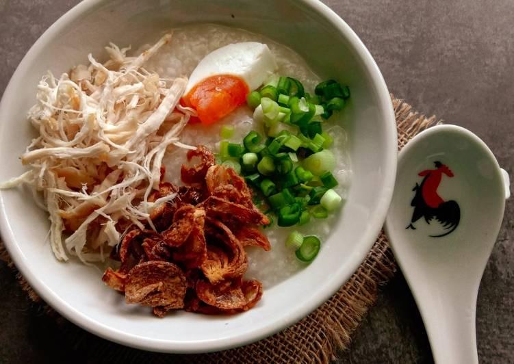 Bubur Nasi Mak Leha - resepipouler.com