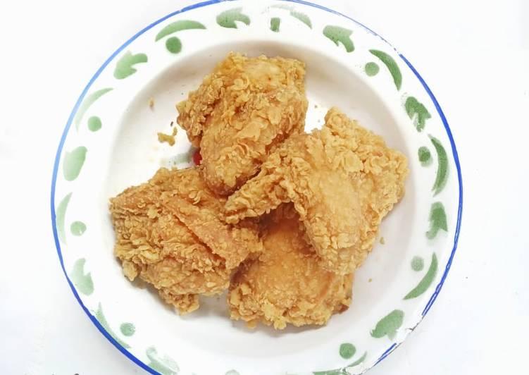 Sayap Ayam Goreng Tepung