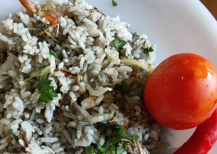 Nasi Goreng Seafood Tinta Cumi