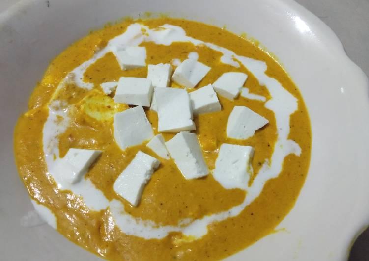 Absolutely Ultimate Dinner Easy Winter Shahi Paneer