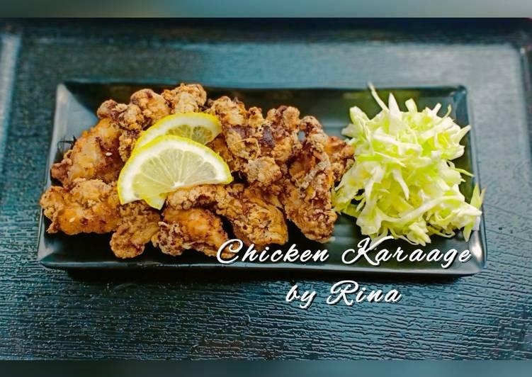 Chicken Karaage (Japanese Fried Chicken) by Rina