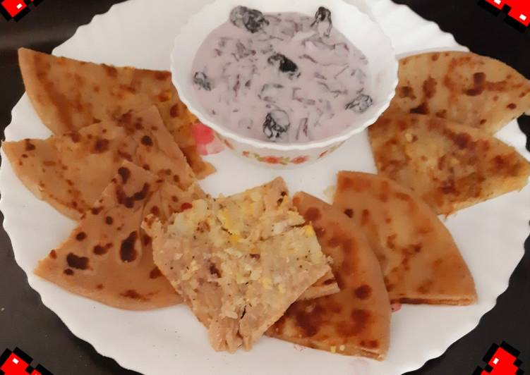 Easiest Way to Make Delicious Stuffed Paratha