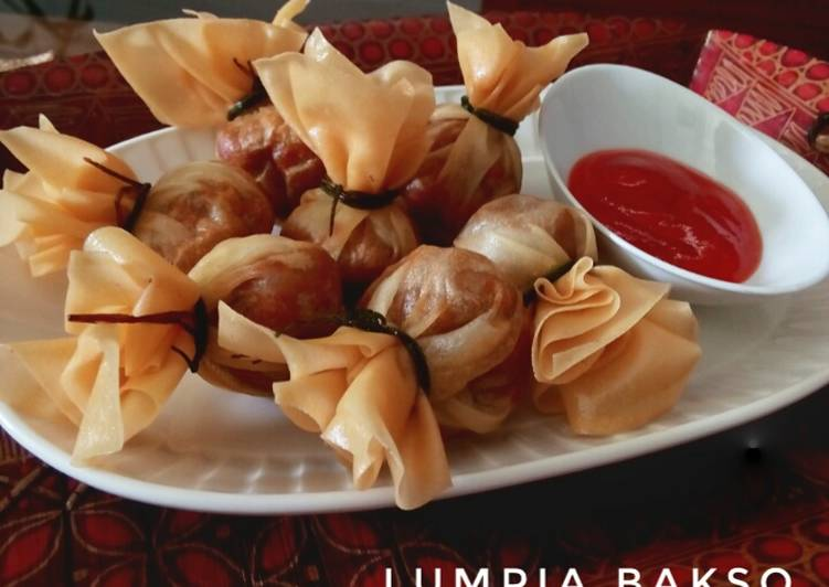 Lumpia Bakso || money bag