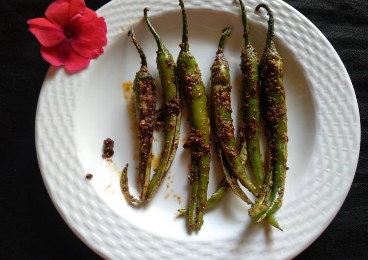 Recipe of Homemade Masala chillies