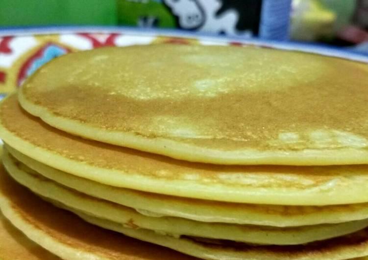 Resep Pancake simple Terenak