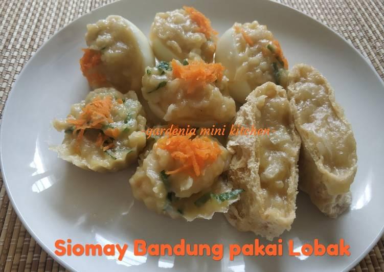 Resep Siomay Bandung pakai Lobak by Bu Fatmah Bahalwan Yummy