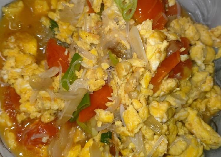 Resep Tumis telur tomat simple, Lezat