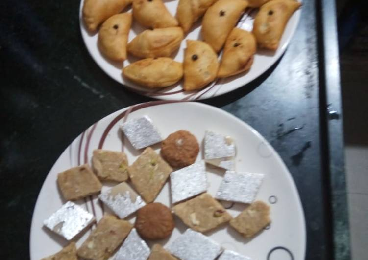 Easiest Way to Make Super Quick Homemade Diwali Sweets