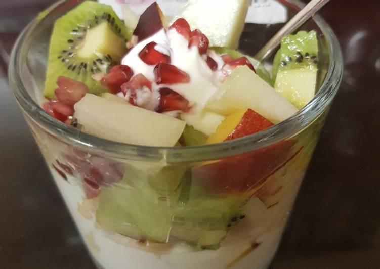 Recipe of Homemade My Fresh Fruit Parfait. 🙄