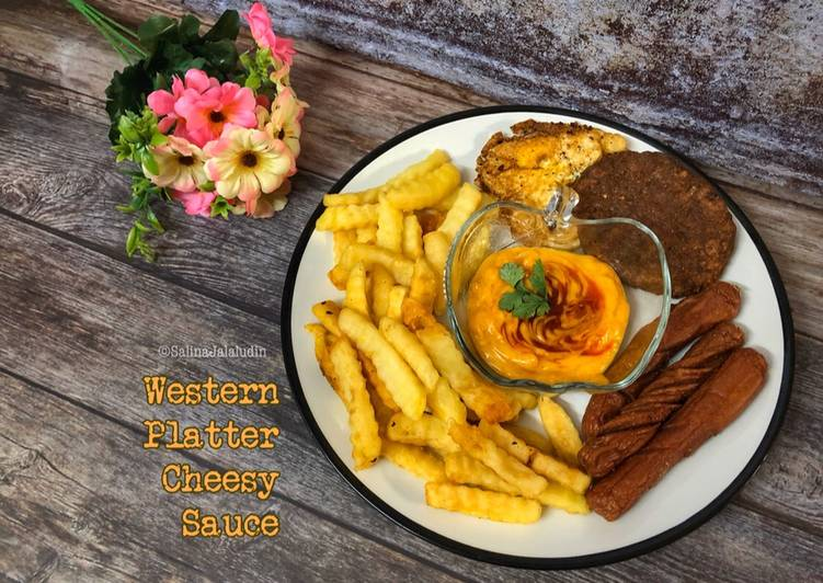 Western Platter Cheesy Sauce - resepipouler.com