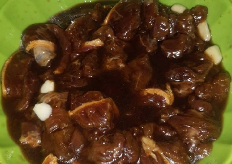 29. Marinasi Daging Sapi Madu Bakar