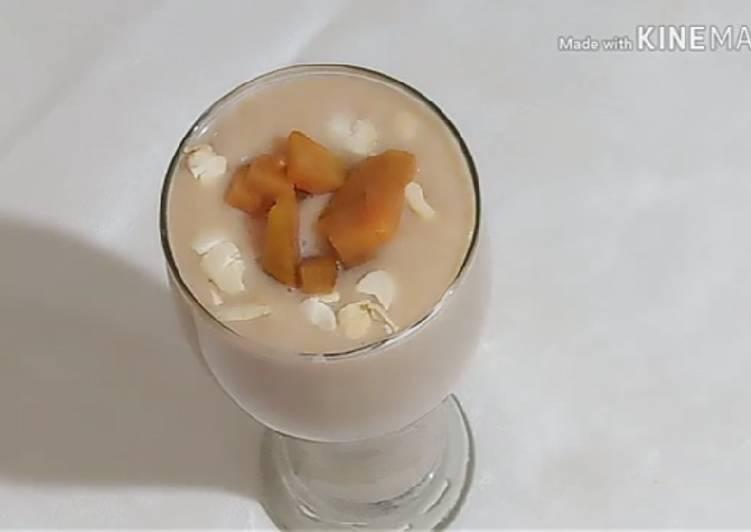 Delicious Chiku Milk Shake