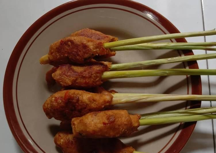 Sate Lilit Ayam -Bali-