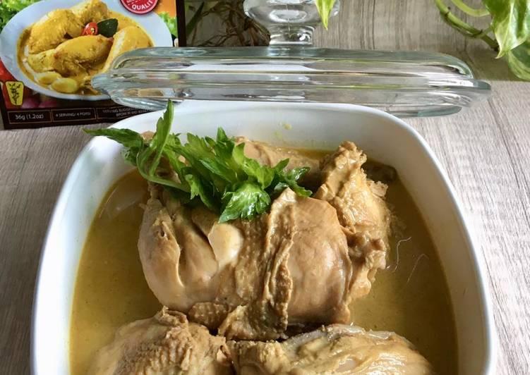 Langkah Mudah Memasak Kari Ayam Simple, Bisa Manjain Lidah
