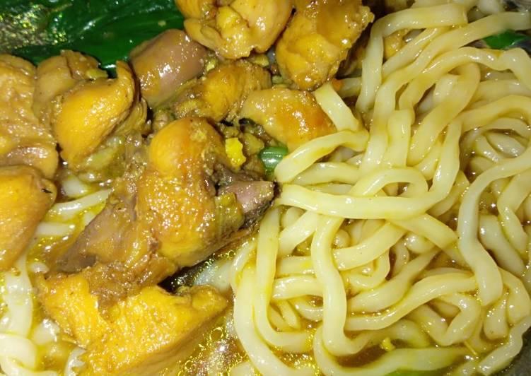 Mie ayam rumahan