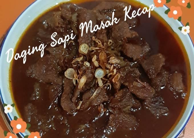 Daging Sapi Masak Kecap (no ribet,simpel) - projectfootsteps.org