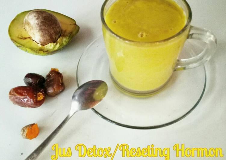 Jus Detox/Reseting Hormon