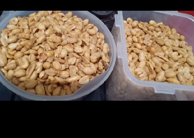 Kacang bawang khas lebaran anti apek dan alot