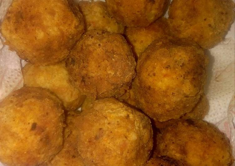 25 Minute How to Prepare Blends Yam balls