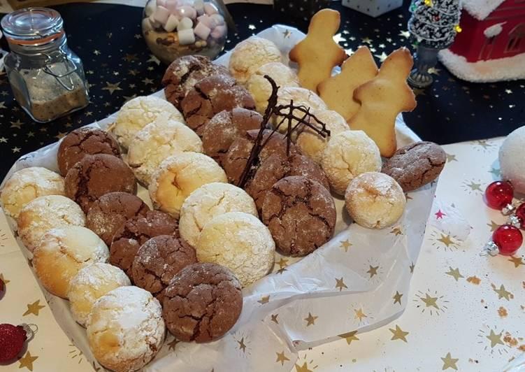 La Meilleur Recette De Crinkles au Chocolat