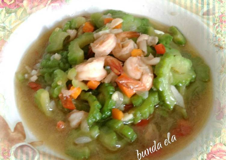 Tumis Pare Udang