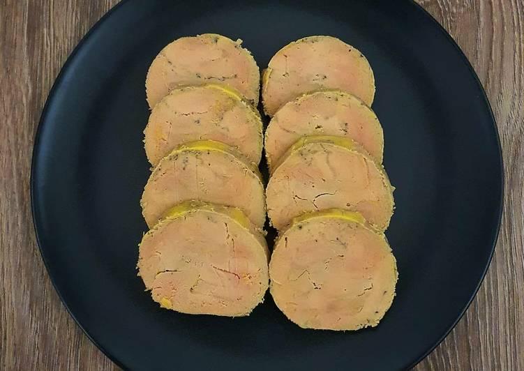 Le moyen le plus simple de Préparer Savoureux Foie gras de canard mi-cuit en cuisson sous vide
