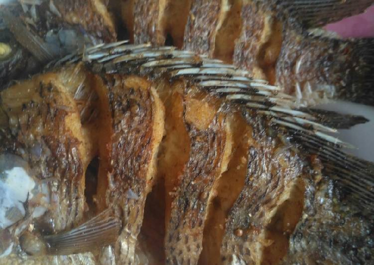 Resep Ikan Mujair Goreng Yang Gampang Endes