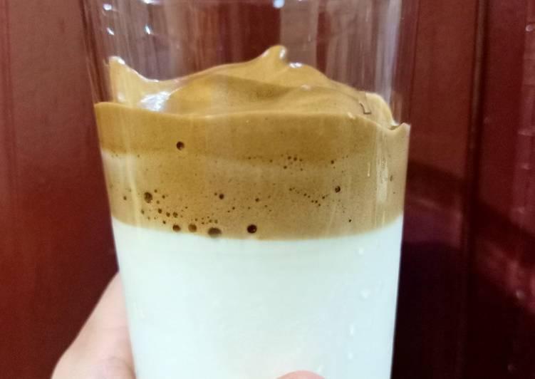Dalgona Coffee (no mixer)