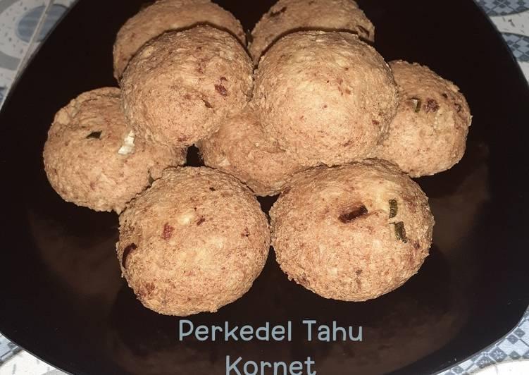 Perkedel Tahu Kornet - cookandrecipe.com