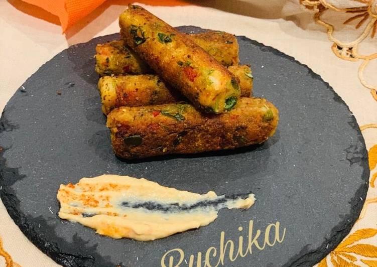 Easiest Way to Make Award-winning Methi and vegetables Kababs