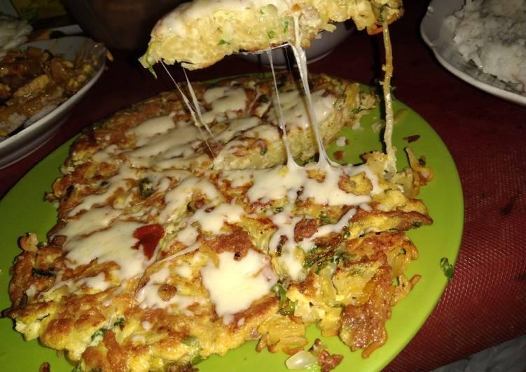 Pizza mie mozza mulur