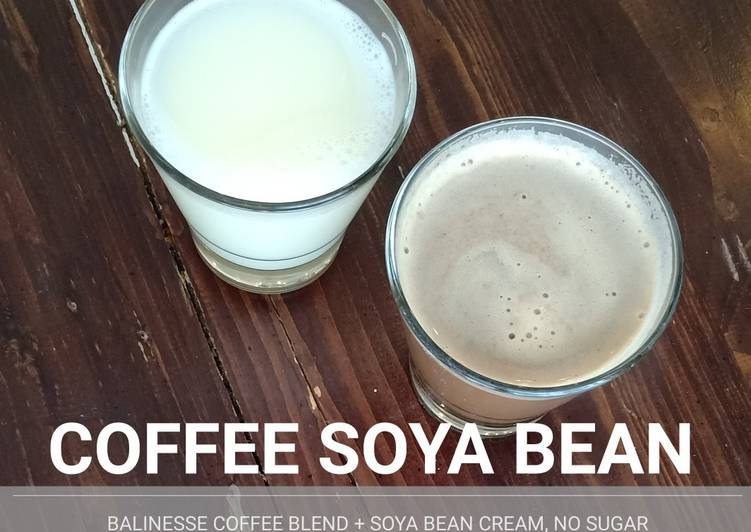 COFFE SOYA BEAN (KOPI SUSU KEDELAI)