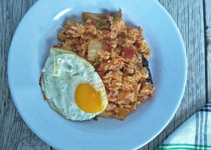 Recipe: Perfect Kimchi Fried Rice