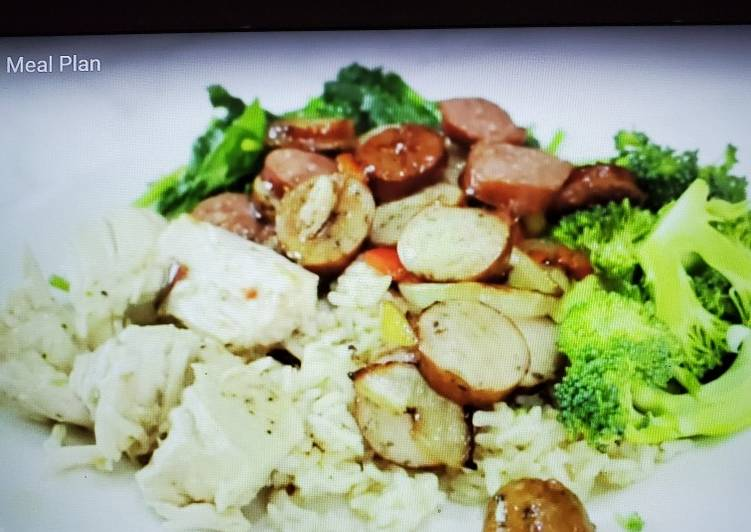 How to Prepare Quick High Carb Meal (L)