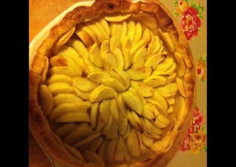 Tarte aux pommes et sirop d érable
