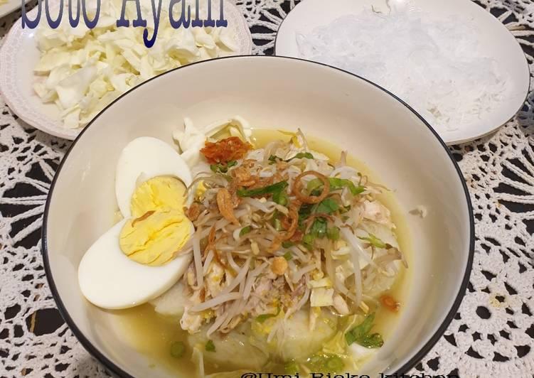 Resep Soto Ayam Bening, Bikin Ngiler