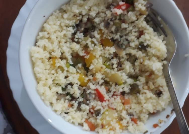 How to Prepare Speedy Healthy Hot Couscous Bowl