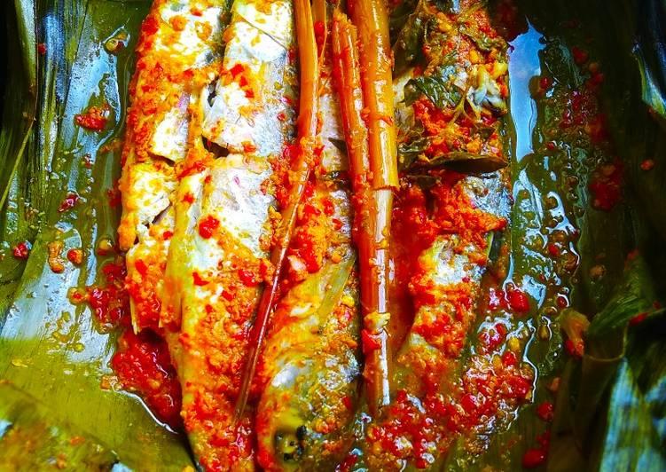 Resep Brengkes ikan kembung 🤤, Menggugah Selera